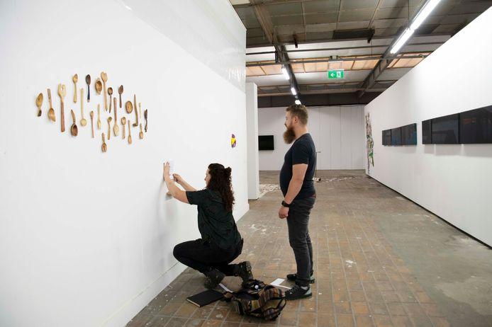 Juist daarom waren de studenten zo goed op hun plek in Atelier Rozenstraat, een atelierruimte van de Fontys Hogeschool voor de Kunsten (FHK).