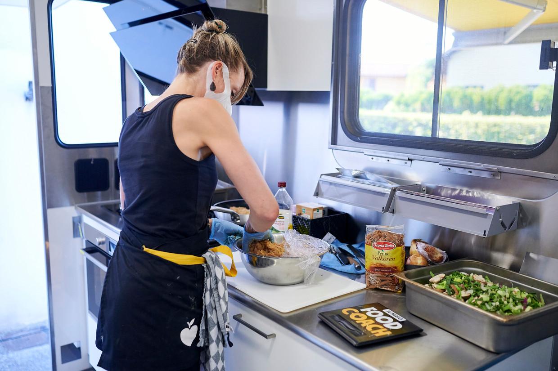 Karin Lambrechtse, foodcoach bij Jumbo-Visma food. Beeld Jumbo Visma