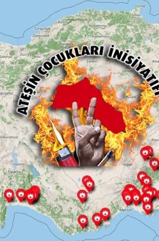"""""""We hebben geen wapens, maar wel lucifers"""": staken terroristen werkelijk Turkse bosbranden aan?"""
