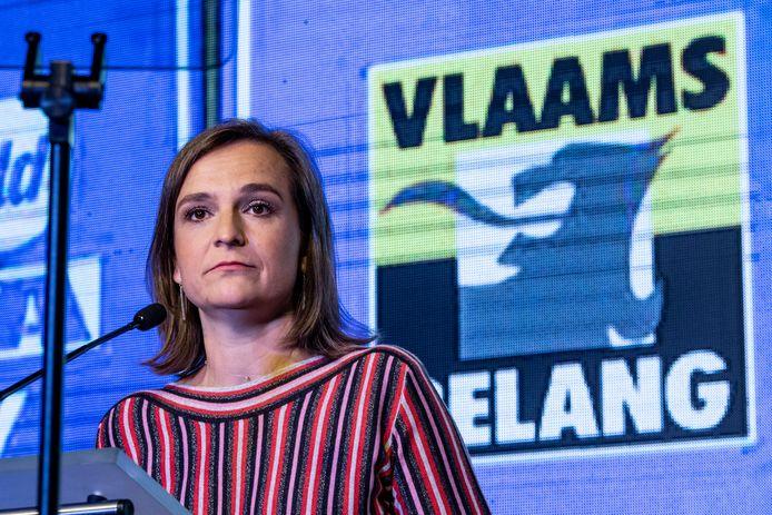 Barbara Pas, kamerfractieleidster Vlaams Belang.