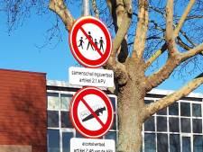 Jongeren krijgen bekeuring vanwege overtreden samenscholingsverbod