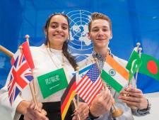 Honderden leerlingen uit zes landen naar Alfrink College voor MUNA: 'Megaklus'