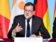 """Rajoy appelle les indépendantistes à admettre que le référendum """"n'aura pas lieu"""""""