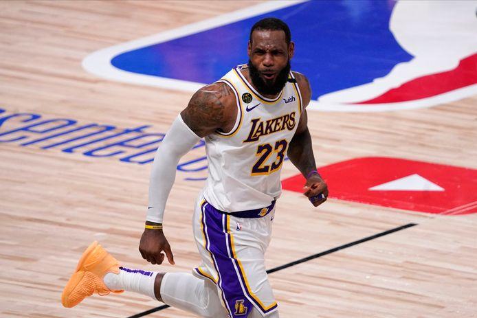 LeBron James, la star des LA Lakers, s'est réjoui de la victoire du démocrate Joe Biden.