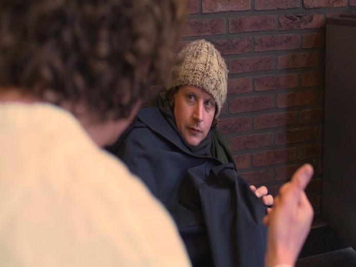 Rutger de Vries in zijn rol als Nelson tijdens de Passion in Winterswijk.