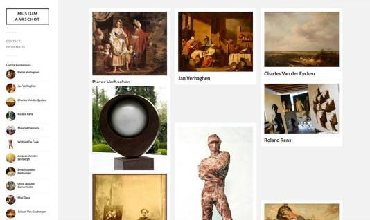 De website van Pieter Van Kerckhoven.