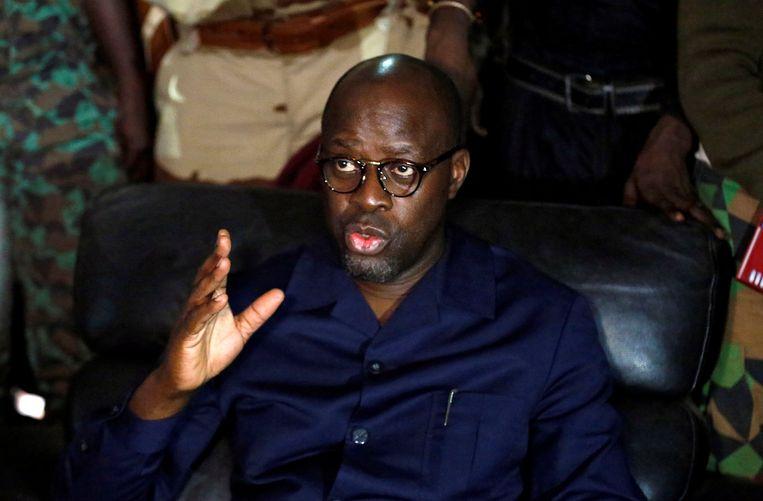 Alain-Richard Donwahi, de Ivoriaanse minister van Defensie. Beeld REUTERS