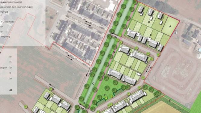 Wegens succes verder uitgebreid: In Heusden-Oost komen er nog eens 64 woningen bij