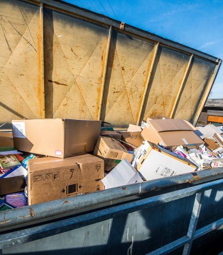 Moordonderzoek Chantal de Vries: politie doorzocht grote afvalberg in Hengelo