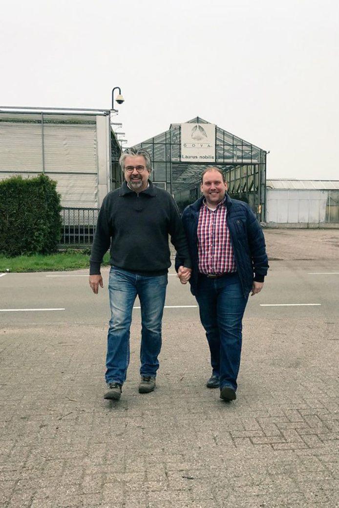 Charl Goossens en Robert Breedveld uit Roosendaal.