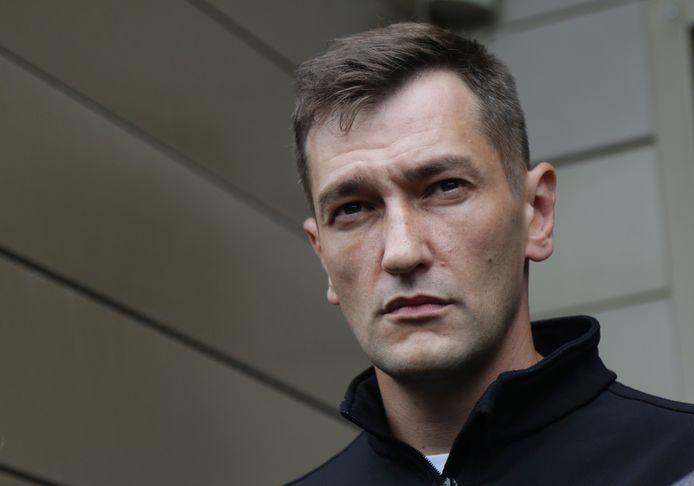 Oleg Navalny, broer van Poetin-criticus Alexey Navalny.