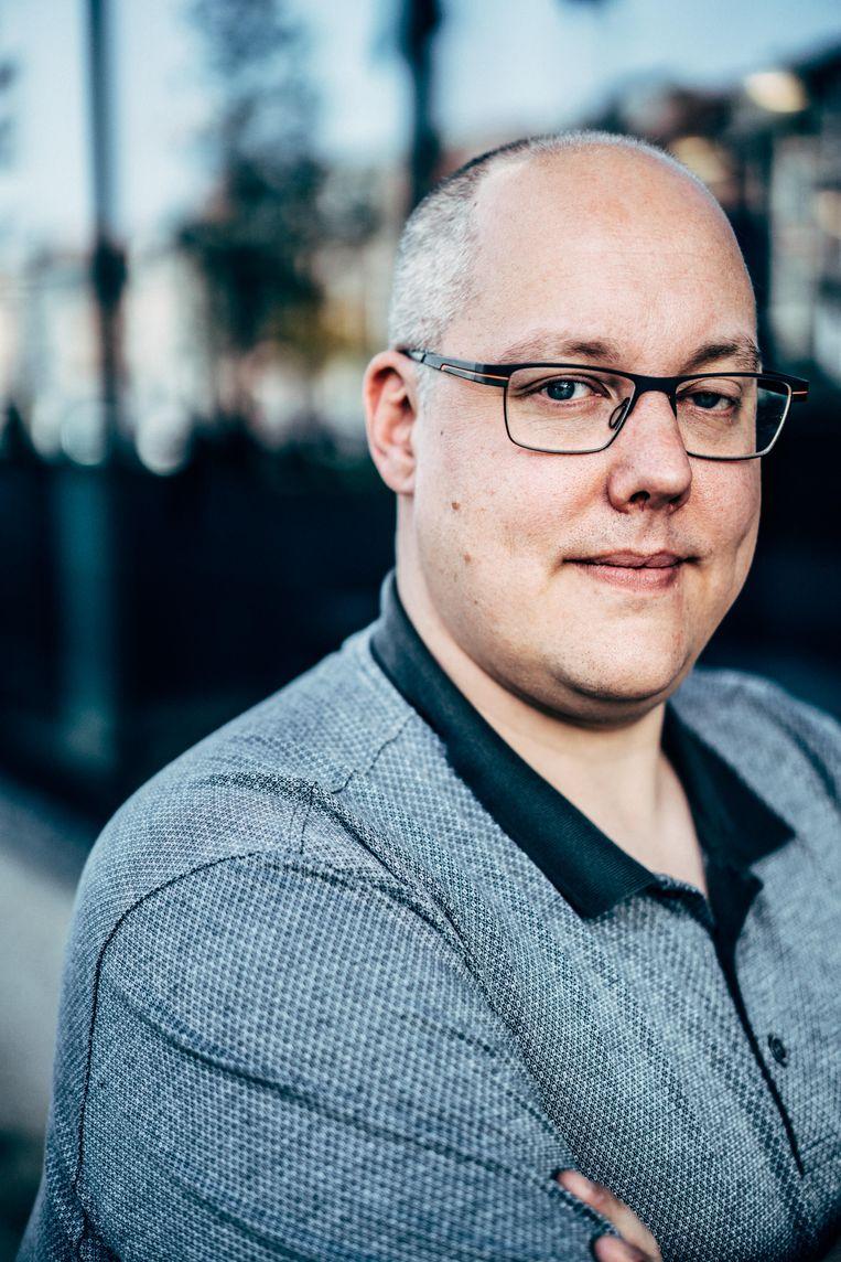 Roderik van der Veer, medeoprichter van blockchainstart-up SettleMint Beeld Thomas Sweertvaegher
