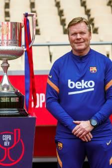 Koeman geeft Barcelona weer hoop, al zal bij verloren bekerfinale toch snel naar de trainer gewezen worden