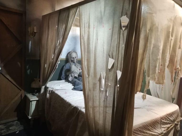 Het Nightmare Motel in Bobbejaanland.