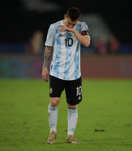 Malgré un superbe coup franc de Messi, l'Argentine manque son entrée dans la Copa America