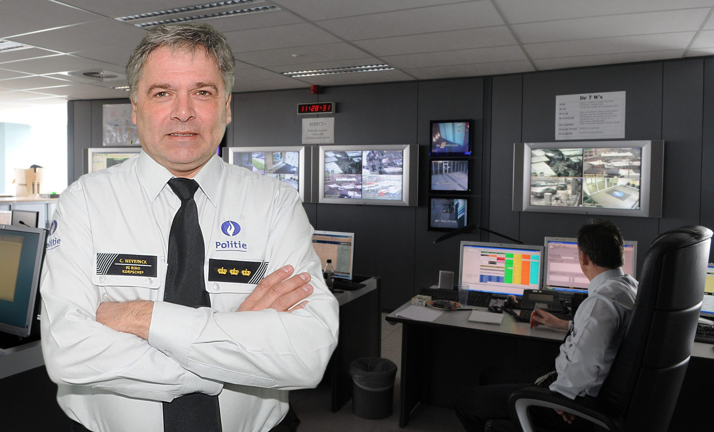 Curd Neyrinck in zijn functie als korpschef bij de politie van de zone Riho.