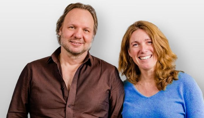 Rob Stenders en Caroline Brouwer