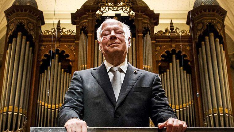 Dirigent Bernard Haitink ontvangt een applaus tijdens de viering van zijn 60-jarig jubileum in het Concertgebouw Beeld Remko de Waal