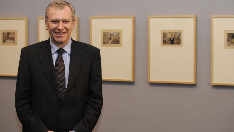 Yves Leterme was eveneens aanwezig bij de inhuldiging van een Ensor tentoonstelling in Luxemburg eerder dit jaar. Beeld UNKNOWN