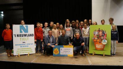 't Nieuwland steekt in nieuw jasje én liep 5.000 euro bijeen voor warmste week