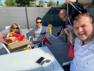 Drie winkels leeggekocht en straat volgehangen met 1.000 Belgische vlagjes: EK-gekte slaat toe in AVS-straat in Eeklo