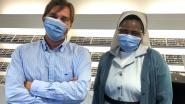 Tokai Optecs schenkt brillen geschikt voor op een mondmasker aan RZ Heilig Hart Tienen