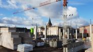 Omvang van nieuw schoolgebouw 'De Kleine Wereld' wordt stilaan zichtbaar