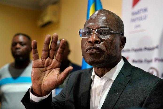 """Volgens oppositiekandidaat Martin Fayulu is er """"een electorale staatsgreep"""" gepleegd."""