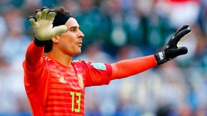 """Ochoa blikt als Mexicaanse doelman nog eens terug op het WK: """"Ik haalde hetzelfde niveau als Courtois en Lloris"""""""