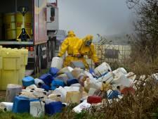 Minder drugslabs, meer afval gedumpt in Gelderland