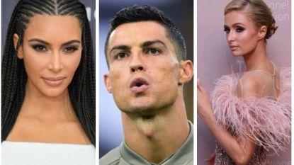 Kim Kardashian en Paris Hilton ondervraagd in verkrachtingszaak Ronaldo