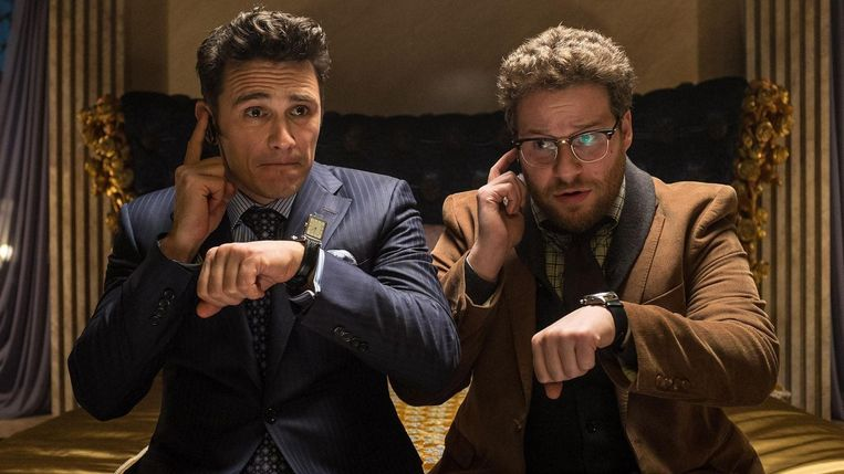 James Franco and Seth Rogen in the film The Interview Beeld PHOTO_NEWS