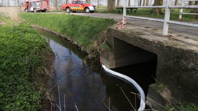 Zware dieselverontreiniging vastgesteld in Barbierbeek na ongeval op E17