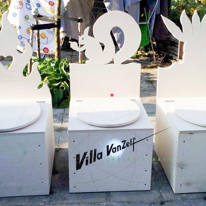 """De stad organiseert onder meer een workshop """"composttoiletten"""". Deelnemers nemen een exemplaar mee naar huis."""