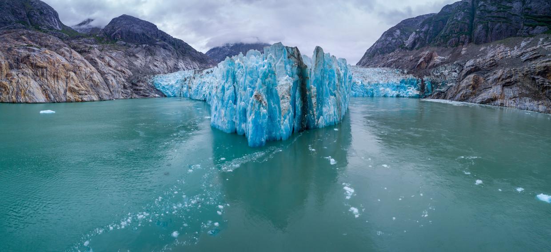De LeConte gletsjer is een geval apart.