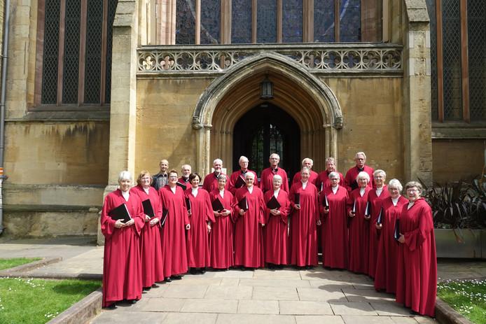 In een lustrumjaar maakt Vocal Devotion altijd een concertreis langs kathedralen en kerken in Engeland.