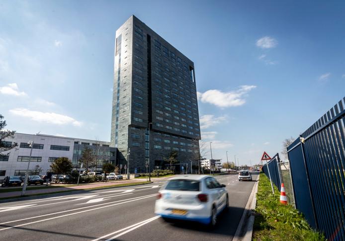 Het hoofdgebouw ASML in Veldhoven.