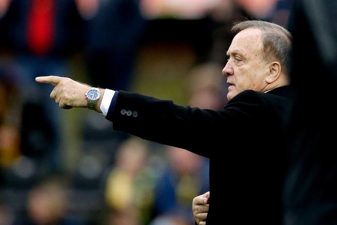 Archieffoto. Coach Dick Advocaat tijdens Feyenoord - VVV-Venlo.