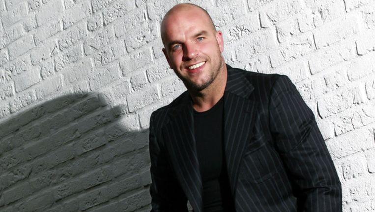 Andy van der Meyde bij de voorstelling van zijn biografie in 2012.