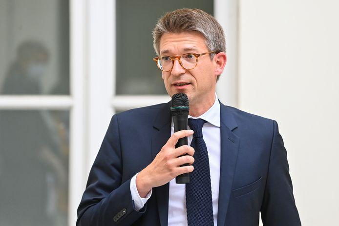 Minister van Werk Pierre-Yves Dermagne (PS).