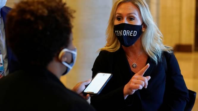 Steeds meer Republikeinen distantiëren zich van partijgenote en QAnon-aanhangster Marjorie Taylor Greene