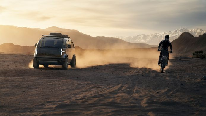 Lifestyle Vehicle-model van Canoo.
