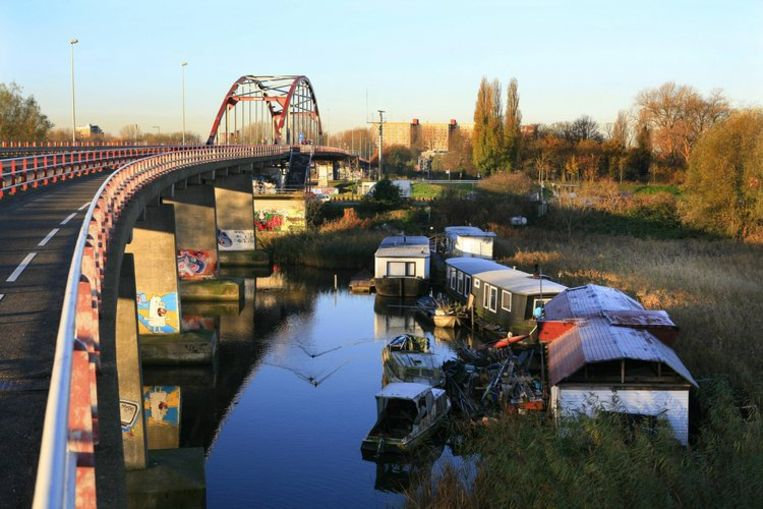 De Amsterdamsebrug. Foto Floris Lok Beeld