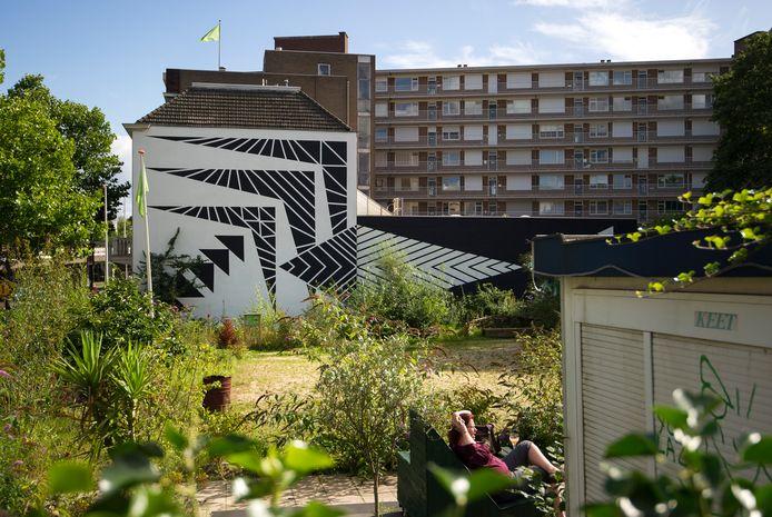 Op deze plek gaart een collectief van burgers een nieuw wooncomplex realiseren. Zes partijen meldden zich voor de bouwlocatie in het Coehoornpark.