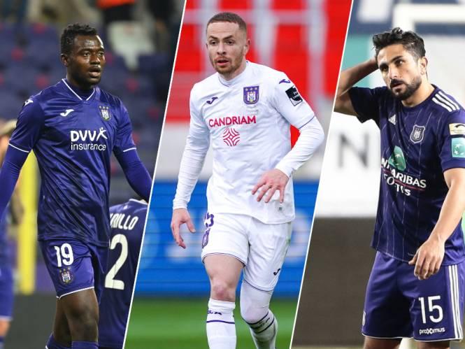 Operatie Afslanking: amper interesse in overbodige Anderlecht-spelers die samen voor loonlast van miljoenen zorgen