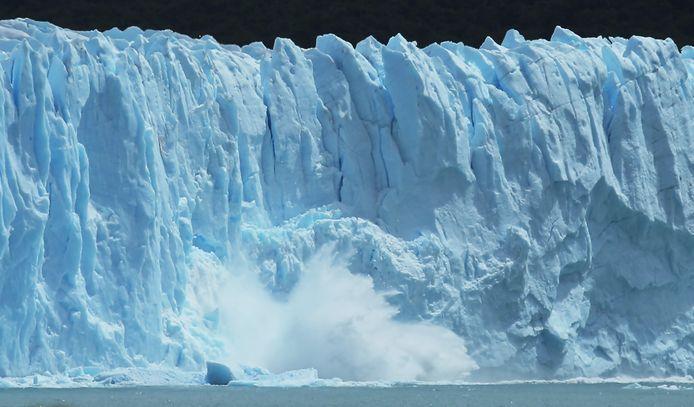Fonte des glaciers en Patagonie (sud de l'Argentine, archive d'illustration)