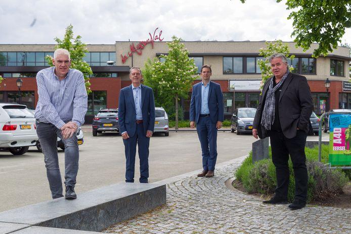 Ron Vosters, Driek Kamps, Thijs Offermans en Anton Steenbergen (vlnr).