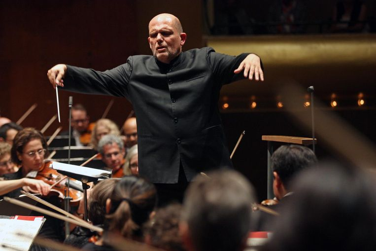 Dirigent Jaap van Zweden.  Beeld getty