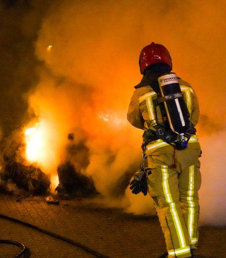 Luxe Mercedes in brand gestoken in Eindhoven