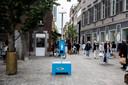 In Hasselt-centrum kan je voortaan standjes vinden waar je gratis zonnecrème kan halen.